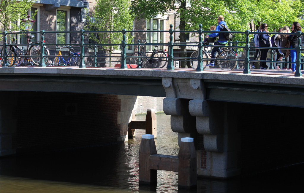 Bridge 5, pier detail Amsterdam