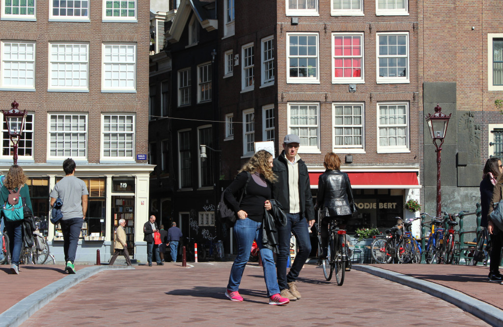 Bridge 5 Walking Amsterdam