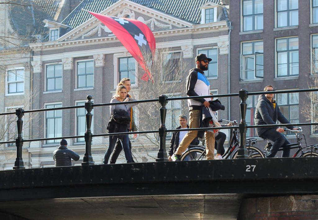 Builingsluis Bridge 27 Amsterdam