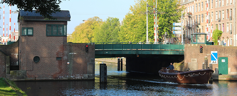 Bridge 155. Copyright: Bridges of Amsterdam (Luke Walker)