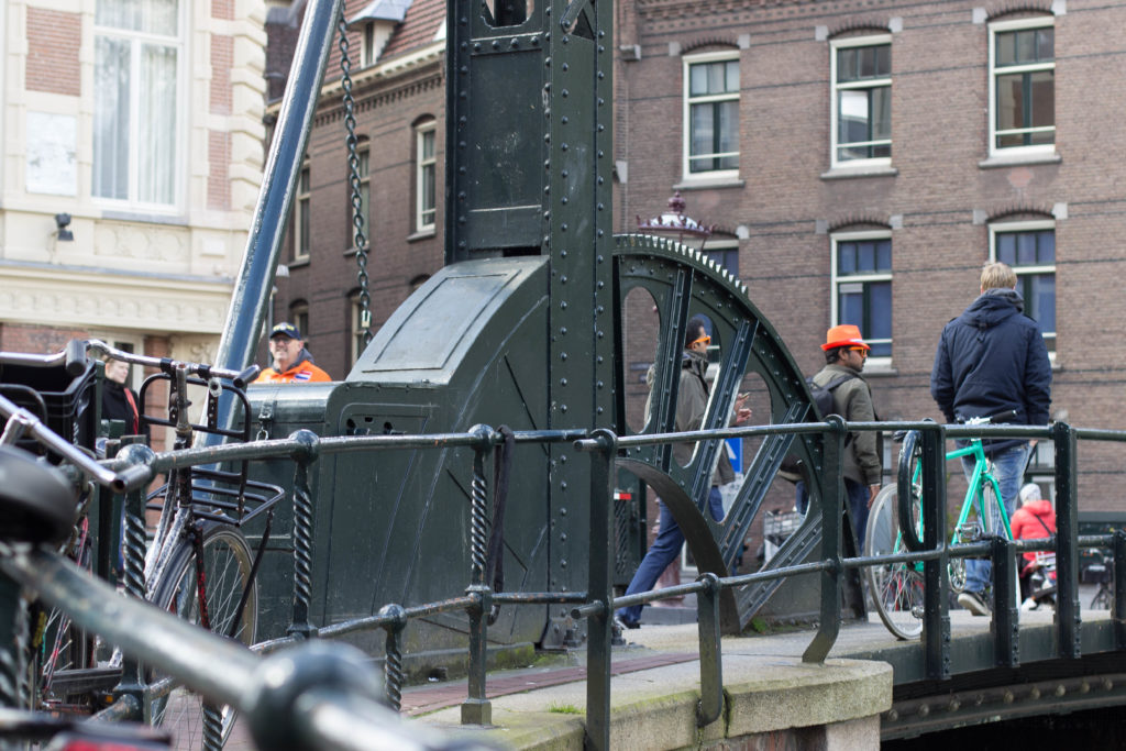 Bascule mechanism detail, Koningsdag 2016