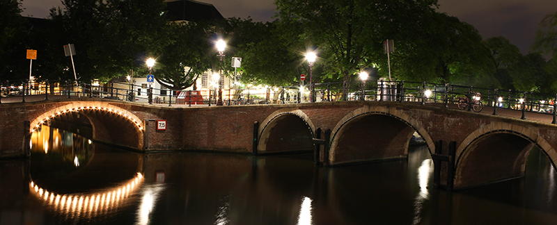 Bridges of Amsterdam at Bridge 73