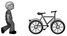 pedestrian-bicycle